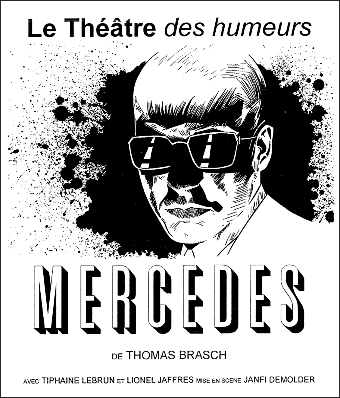 Affiche Mercedes